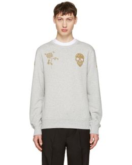 Grey Bullion Sweatshirt