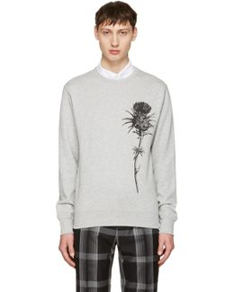 Grey Thistle Sweatshirt