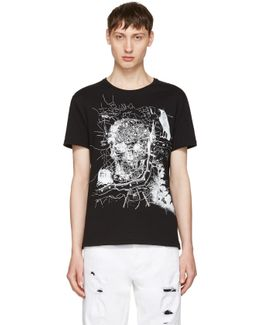Black London Map T-shirt