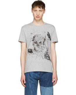Grey London Map T-shirt