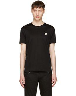 Black Bullion Skull Patch T-shirt