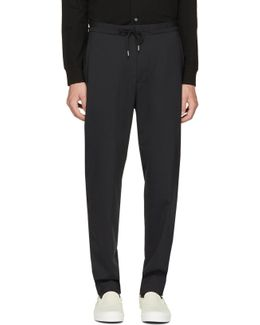 Black Casual Jogger Trousers