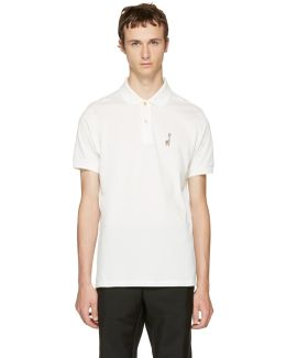 White Gent's Polo