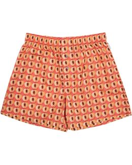 Orange Peaches Boxers