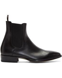 Black Bobby Chelsea Boots