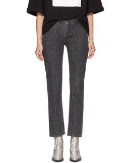 Black Dip Jeans