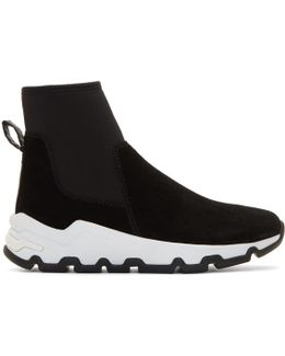 Black Anhabbel High-top Sneakers