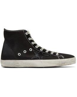 Black Canvas Francy High-top Sneakers