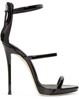 Black Patent Coline Sandals