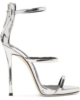 Silver Metallic Coline Sandals