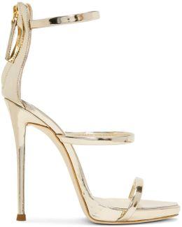 Silver Coline Sandals