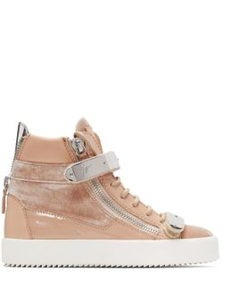Pink May London High-top Sneakers