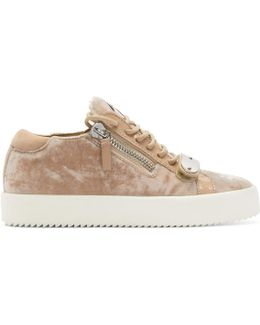 Pink Velvet May London Sneakers