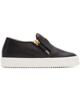 Black May London Slip-on Sneakers