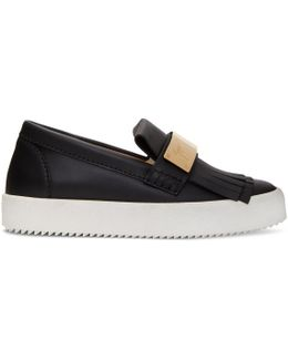 Black May London Moccasin Sneakers