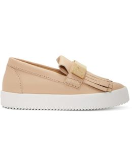 Beige May London Moccasin Sneakers