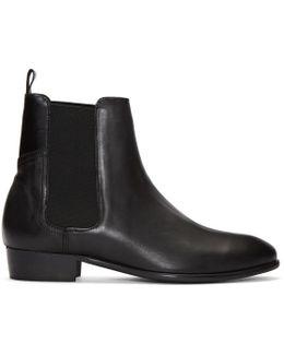 Black Watts Chelsea Boots