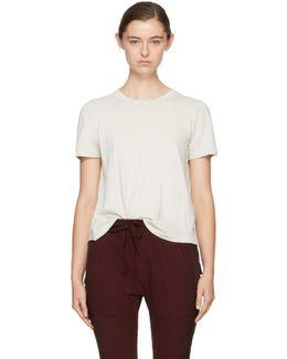Off-white Long Sleeve Boy T-shirt