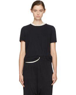 Black Long Sleeve Boy T-shirt