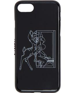 Black Bambi Iphone 7 Case