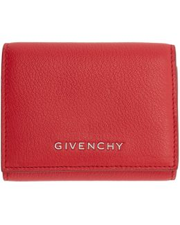 Red Pandora Trifold Wallet