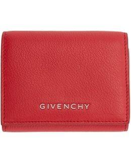 Red Pandora Trifold Wallet