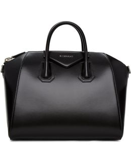 Black Medium Antigona Bag