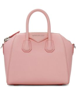 Pink Mini Antigona Bag