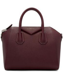 Burgundy Small Antigona Bag