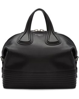 Black Medium Biker Nightingale Bag