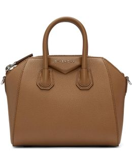 Brown Mini Antigona Bag