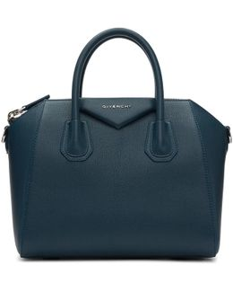 Blue Small Antigona Bag