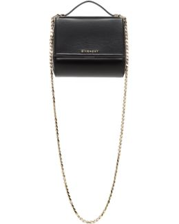 Black Mini Pandora Box Chain Bag