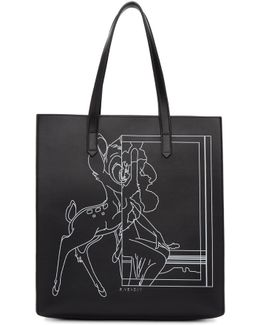 Black Medium Bambi Stargate Tote
