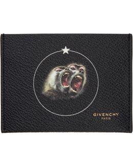 Black Monkey Brothers Card Holder