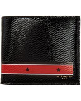 Black & Red Stars & Stripes Wallet