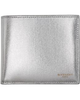 Silver Leather Wallet