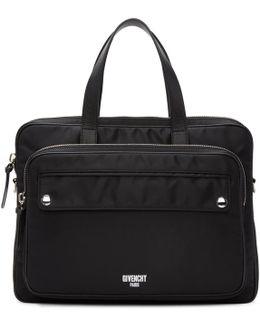 Black Nylon Briefcase