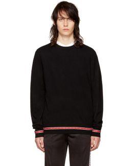 Black Iconic Band Sweater