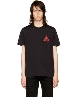 Black 'real Eyes' T-shirt