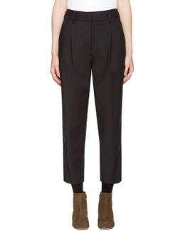 Black Carrot Trousers