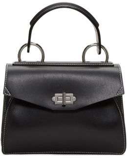 Black Small Hava Top Handle Bag