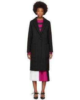 Black Long Wool Coat