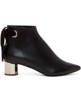 Black Mirror Heel Boots