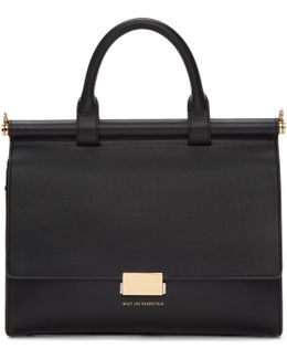 Black Maxi Valencia Bag