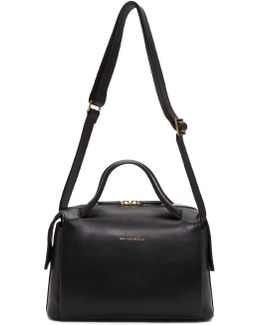Black Maxi City Crossbody Bag