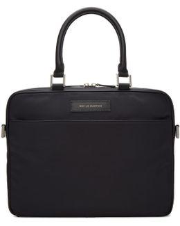 Black Haneda Computer Briefcase