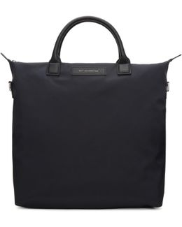 Black Nylon O'hare Shopper Tote