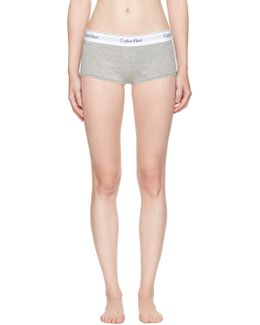 Grey Modern Boy Shorts