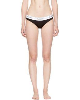 Black Modern Bikini Briefs